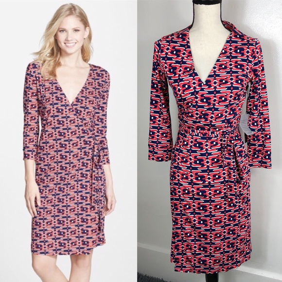 dad59b40dd13 Felicity & Coco Dresses   New 98 Felicity Coco Avia Print Wrap Dress ...